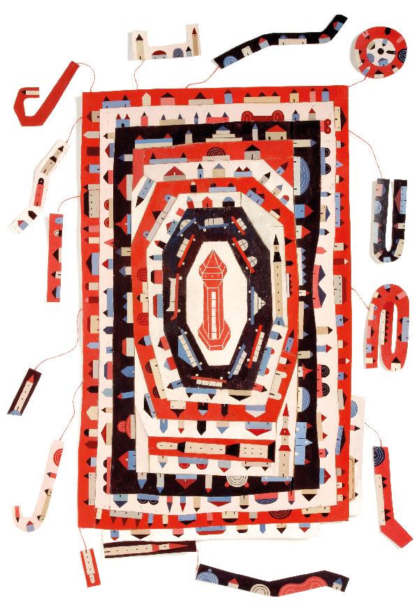 Cenzère, Rêveur de cartes, 2012.