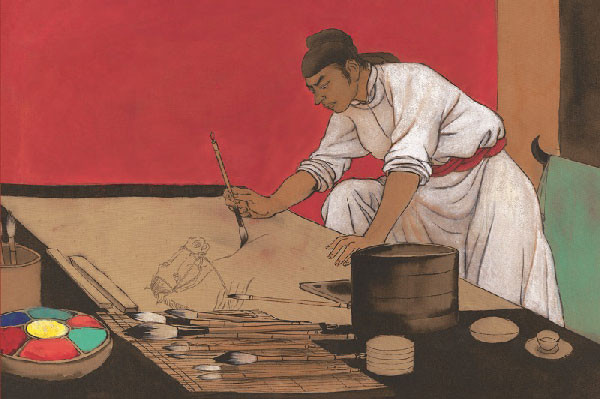 Le Cheval magique de Han Gan, 2004