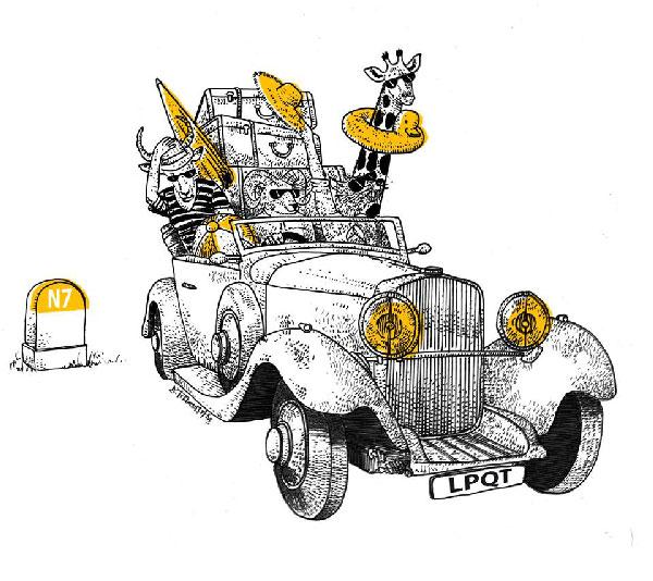 Illustration pour La Pierre qui tourne, 2014-2018