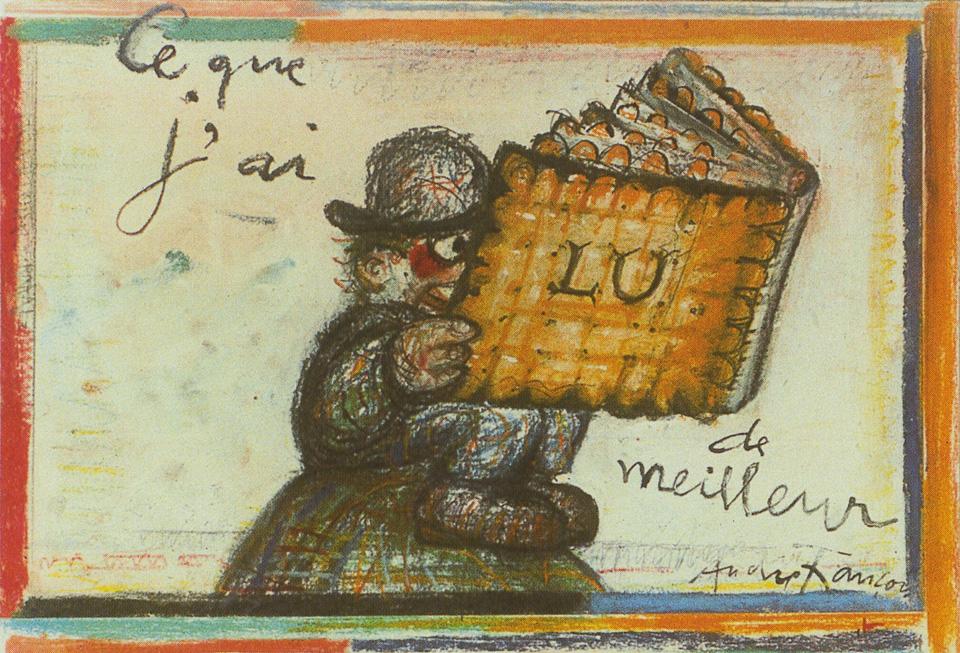 affiche sérigraphiée d'André François