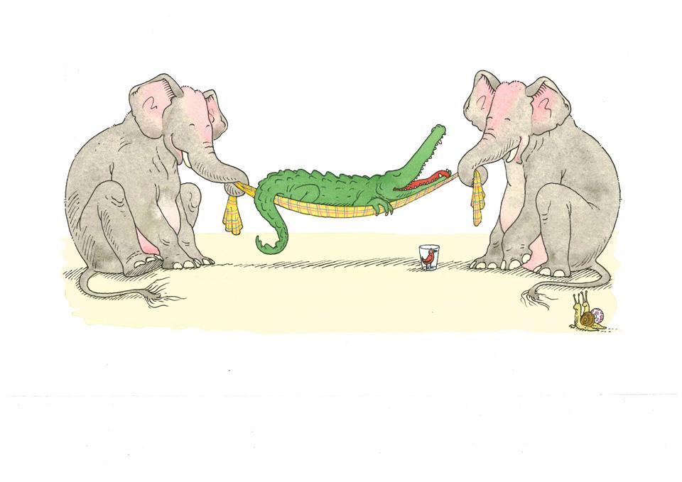 Le repos du crocodile