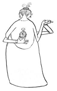 André François, dessin extrait du livre The Double Bedside Book,1952